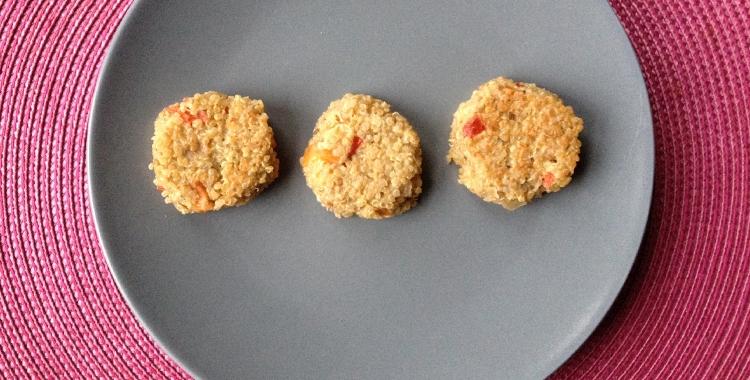 recetas raw food falafel quinoa