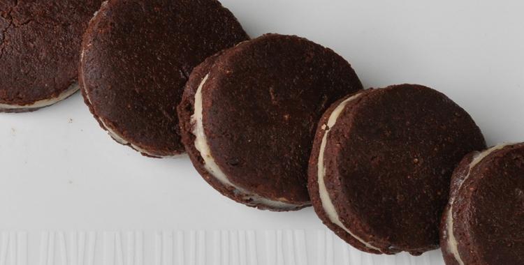 recetas raw food galletas oreo